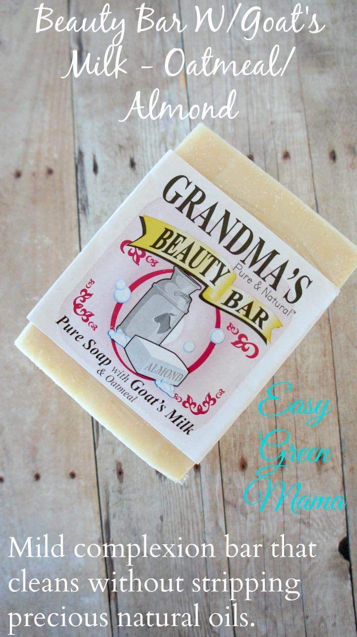 Beauty Bar W/Goat's Milk - Oatmeal/Almond