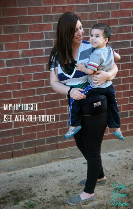 Baby Hip Hugger with 30lb Toddler