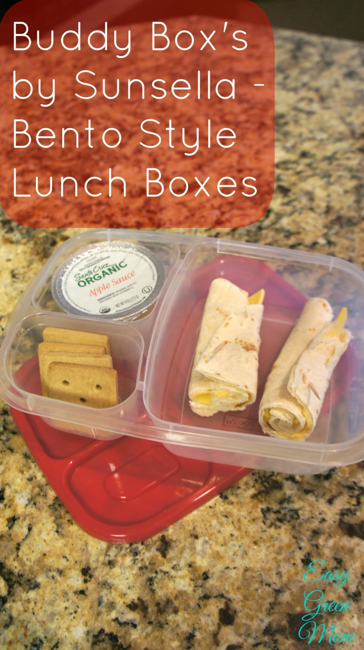 Buddy Box's by Sunsella - Bento Style Lunch Boxes