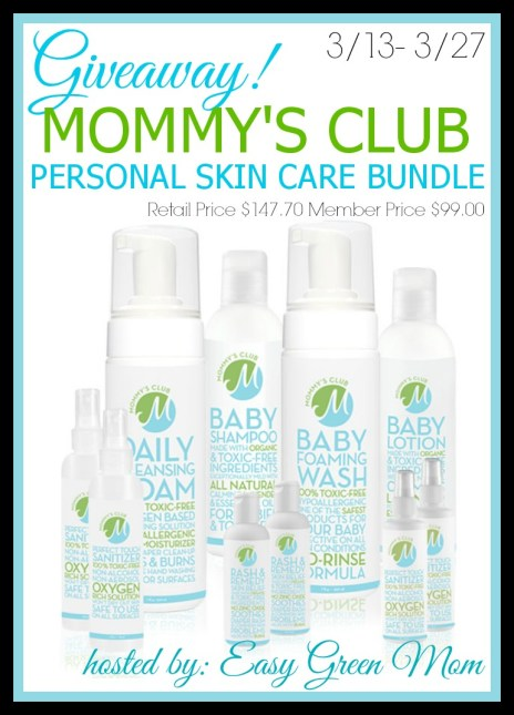 GIVEAWAY MOMMY'S CLUB PERSONAL SKIN CARE BUNDLE - hosted by rays of bliss