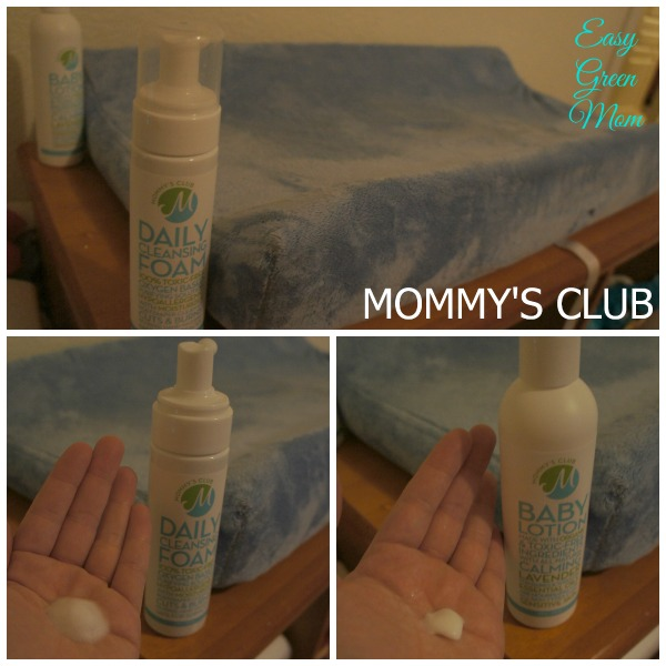 MOMMY'S CLUB LOTION AND DAILY FOAM