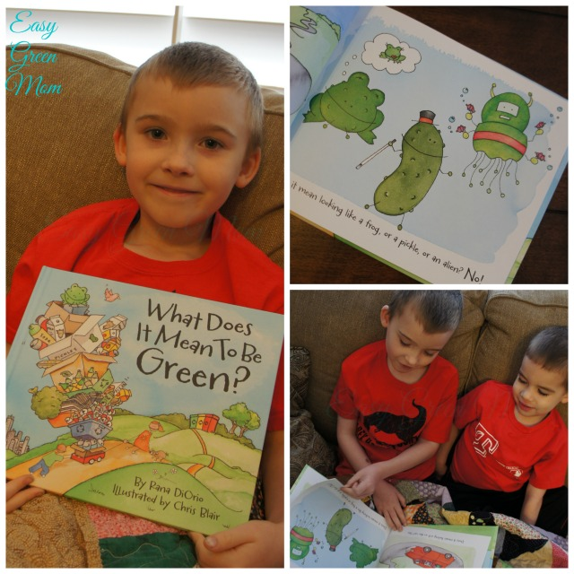 What Does it Mean to Be Green from Little Pickle Press