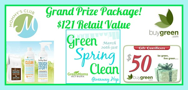 Green Spring Clean Giveaway Hop Grand Prize