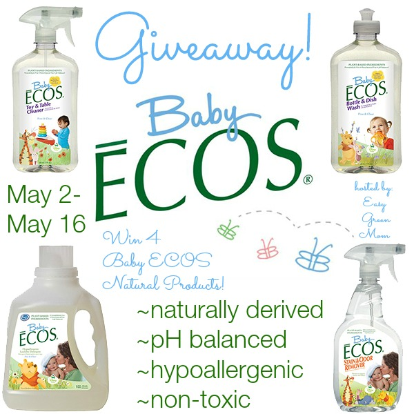 Baby ECOS Giveaway