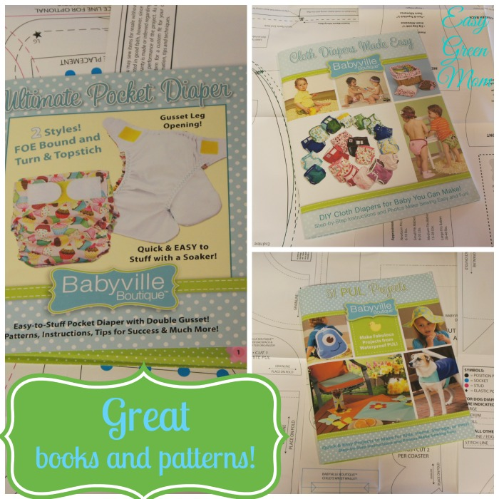 Books and Patterns from Babyville Boutique.