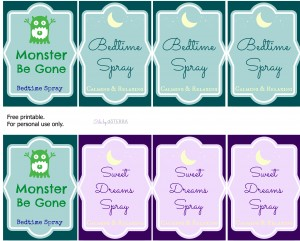 Free-Printable-Bottle-Labels.-Bedtime-Sweet-Dreams-Monster-Be-Gone