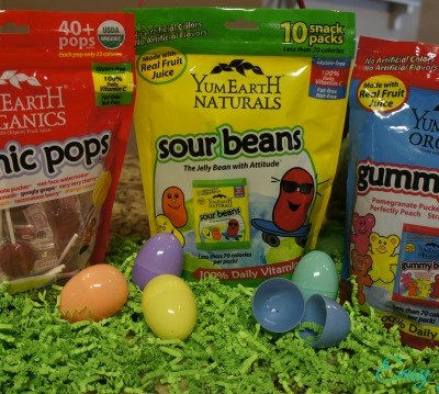 Naturally Sweet Easter with YumEarth Candy!