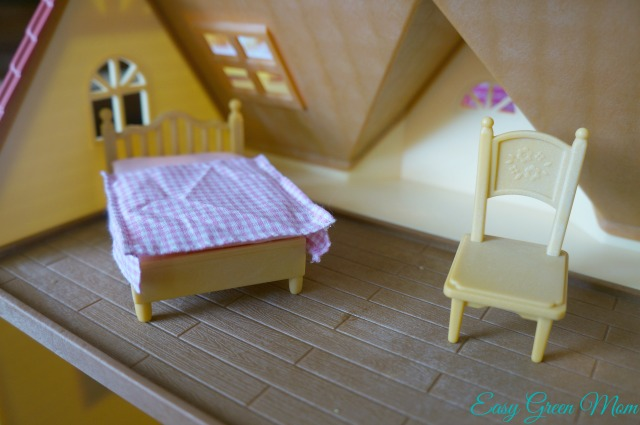 Calico Critters Review upstairs