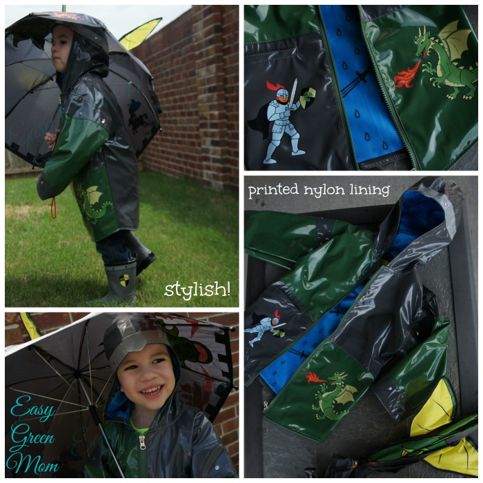 Kidorable Dragon Knight Rain Coat