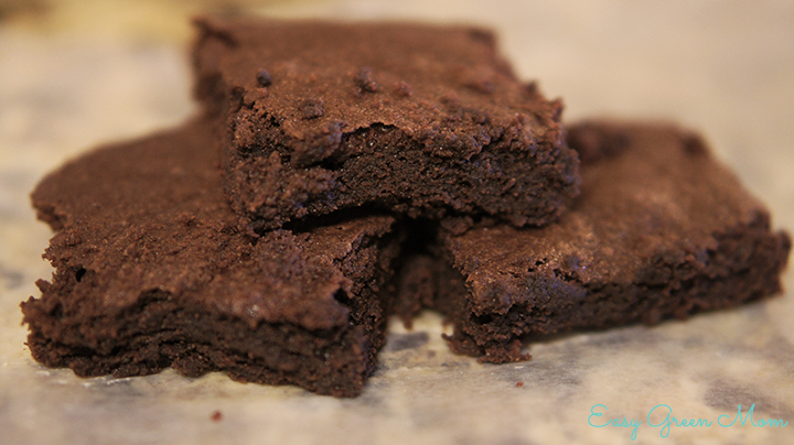 Gluten Free Classic Brownies made from Scratch