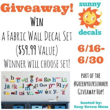 Sunny Decals Giveaway hosted by rays of bliss