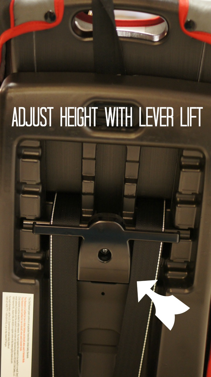 adjust the lever lift