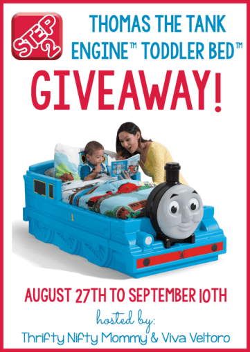 Step2 Thomas the Tank Engine™ Toddler Bed™ Giveaway