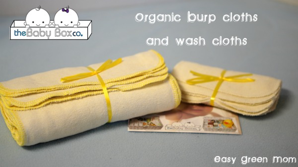 The Baby Box Co. Organic Burp and Wash Cloths