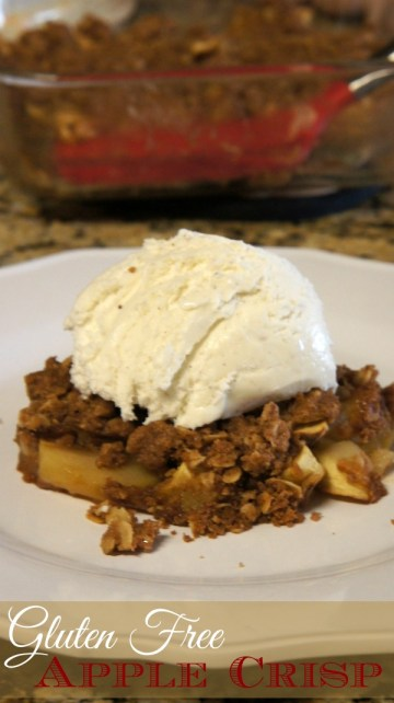 Gluten Free Apple Crisp Recipe from Sweet & Simple Gluten-Free Baking Cookbook