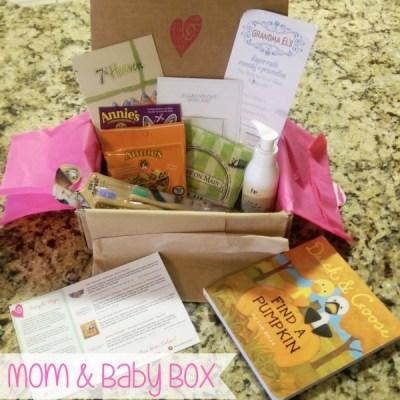 Ecocentric Mom & Baby Box Subscription Service ~ November 2014