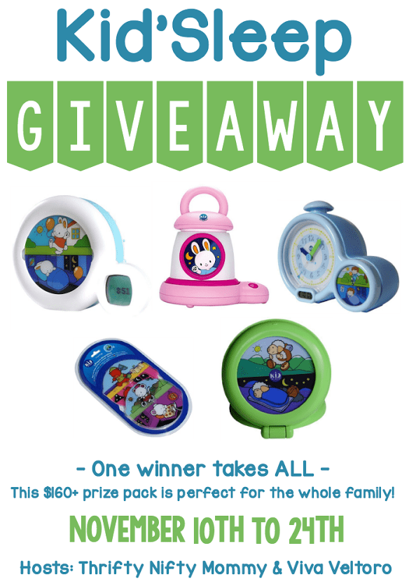 Kid'Sleep Giveaway