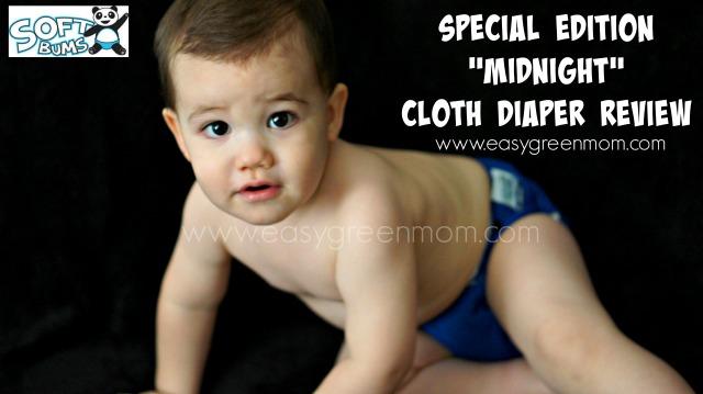 "SoftBums Special Edition ""Midnight"" Cloth Diaper Review"