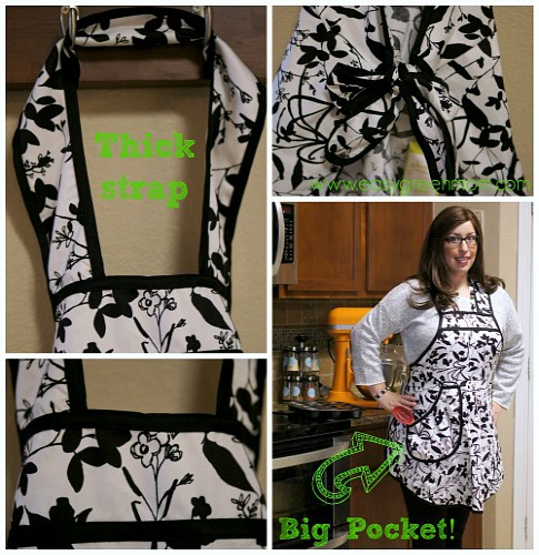 A Greener Kitchen Organic Cotton Full Apron