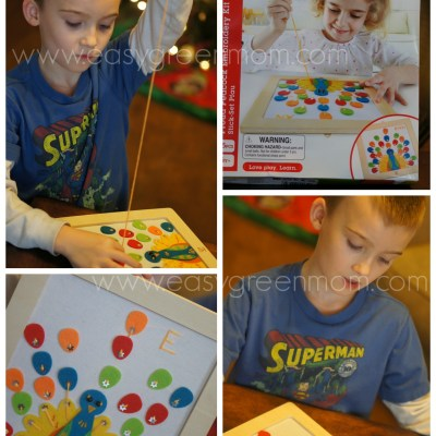 Hape Toys Proud Peacock Embroidery Kit Review