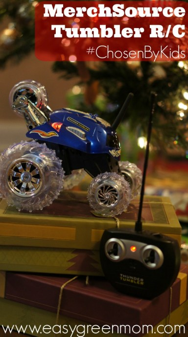MerchSource Tumbler R/C Review ~ #ChosenByKids