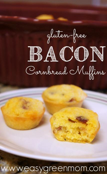 Gluten Free Bacon Cornbread Muffins Recipe