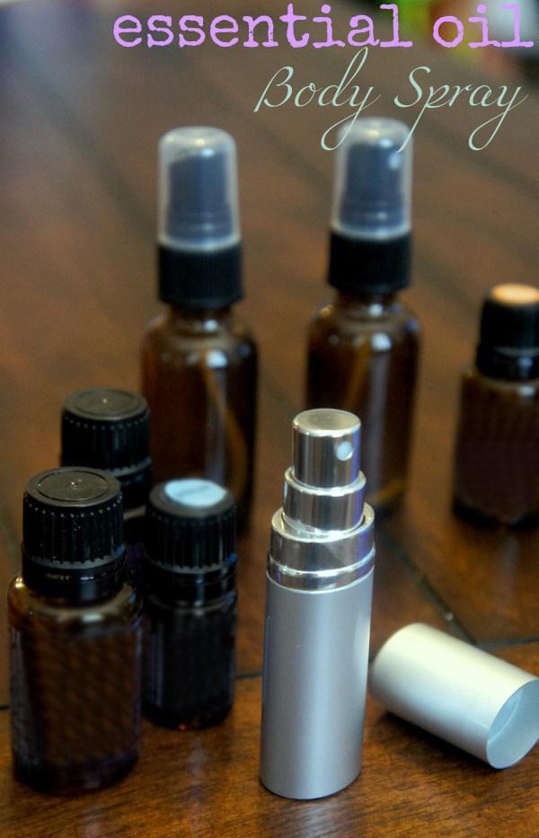 DIY Essential Oils Body Mist
