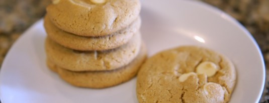 Gluten-free Peanut Butter White Chocolate Chip Cookies Recipe