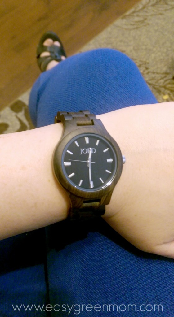 ELY jord wood watch