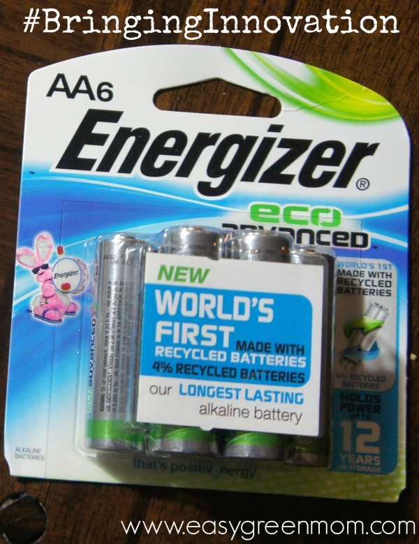 Energizer New EcoAdvanced Batteries #BringingInnovation #CollectiveBias