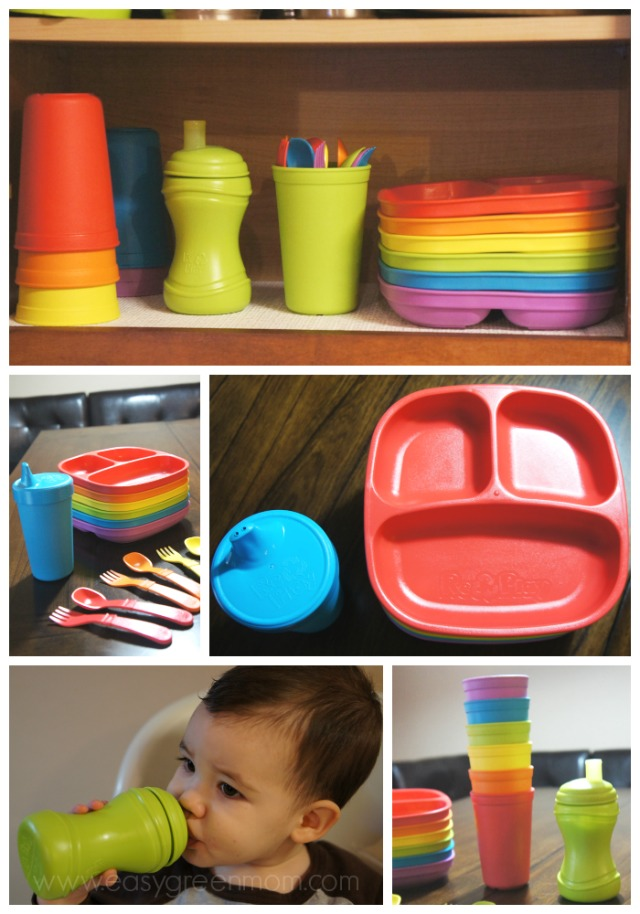 Re-Play Recycled Children's Tableware Set