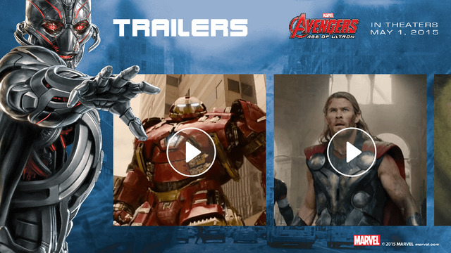 Super Heroes Assemble movie trailers