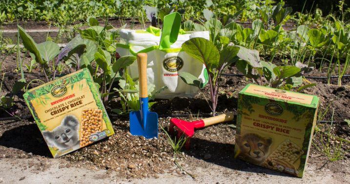 Nature's Path Giveaway: EnviroKidz Gardening Kit