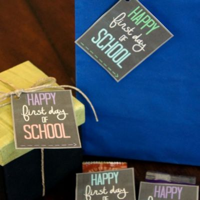 Happy First Day of School Note Free Printable