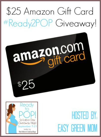 $25 Amazon Gift Card #Ready2POP Giveaway