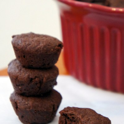 Gluten-Free Fudgy Mini Brownie Bites