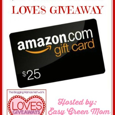 $25 Amazon Gift Card LOVE Giveaway!
