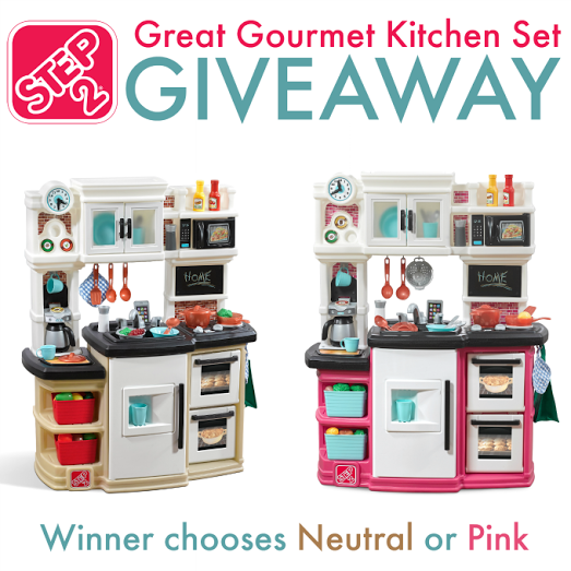 Step2 Great Gourmet Kitchen Set Giveaway