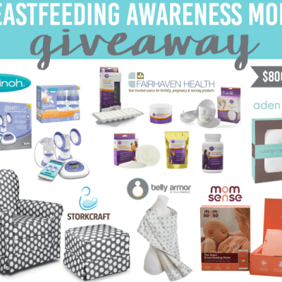 Breastfeeding Awareness Month Giveaway