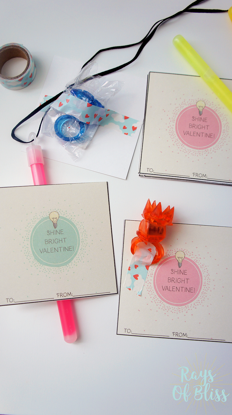 Free Printable Valentine's Day Cards Shine Bright Valentine!