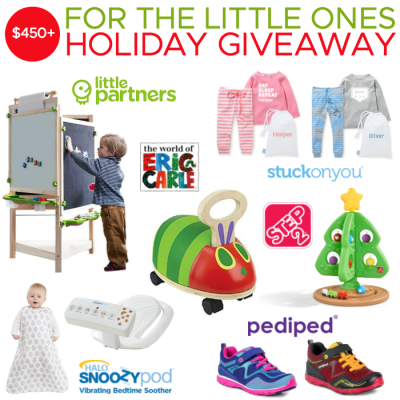 For the Little Ones Holiday Giveaway! $450+ worth of prizes!