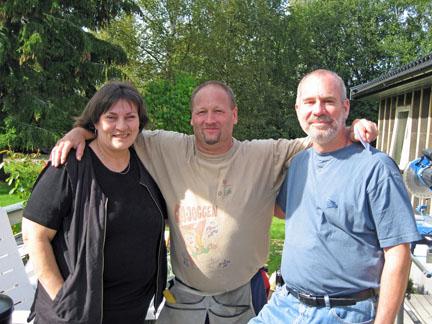 Eva, Bj�rn Johansen & Tony
