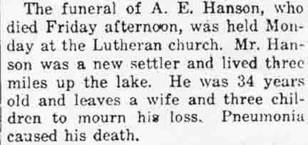 Anton Hanson Obituary