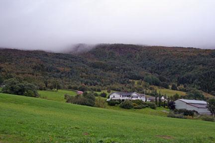 The Mehus farm near Nesna, Norway. Photo by Tony Hanson