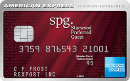 The Starwood Preferred Guest Business Credit Card from American Express