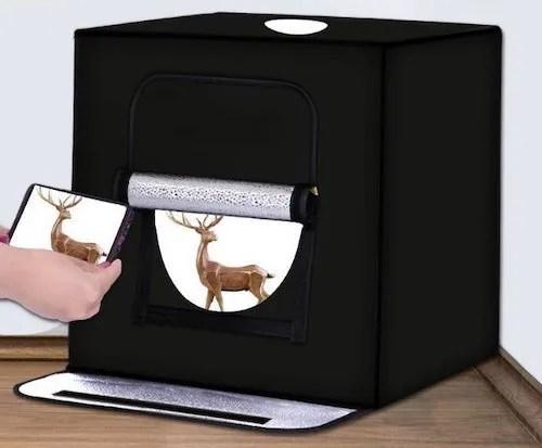 小型攝影棚推薦-【YIDA LED60CM攝影棚】LED攝影棚:箱(攝影棚)