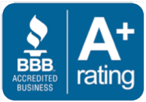 BBB A+ rating logo