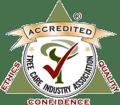TCIA Accredited Tree Care Company logo