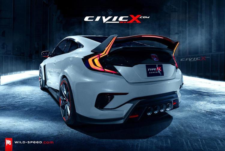 honda civic type r coupé 2016 2