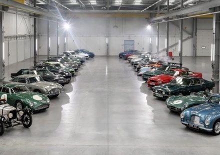 Aston Martin - vários clássicos